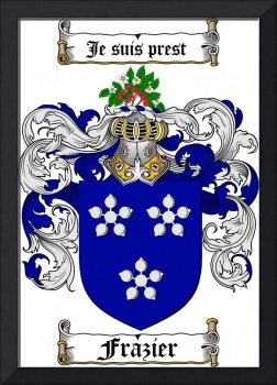 FRAZIER FAMILY CREST - COAT OF ARMS