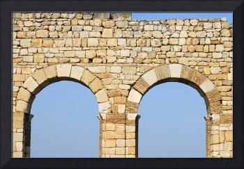 Arches of Basilica of Volubilis, Morocco