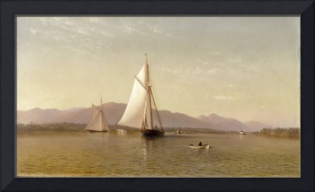 The Hudson at the Tappan Zee by Francis Augustus S