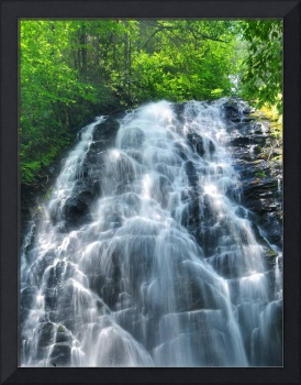 Crabtree Meadows Waterfall - Blue Ridge Parkway NC
