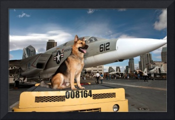 Cody On The USS Midway