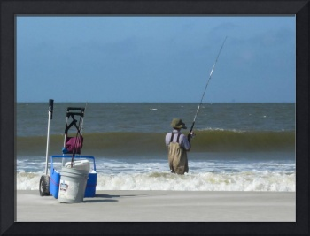 Surf Fishing in the Gulf of Mexico