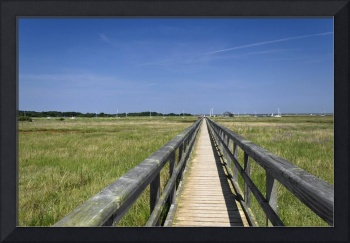 Wooden Bridge, Newtown, Isle of Wight (32544-RDA)