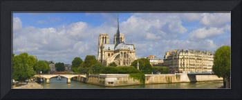 Cathedral at the riverside Notre Dame Cathedral S