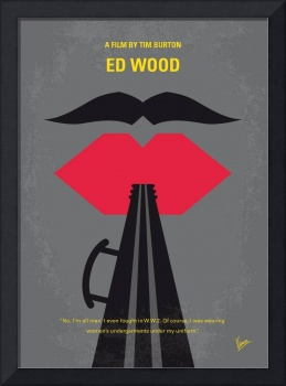 No924 My Ed Wood minimal movie poster