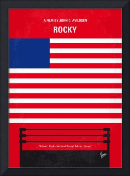 No072 My Rocky minimal movie poster
