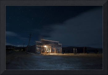 Boone General Store at Night, Bodie