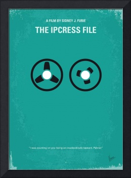 No092 My The Ipcress File minimal movie poster