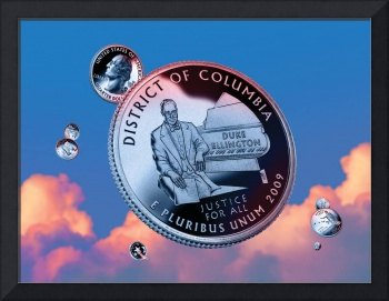 District of Columbia Quarter - Sky Coin 51