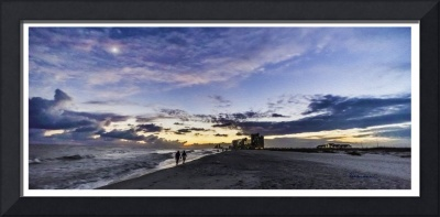 Moonlit Beach Sunset Seascape 0272b2