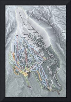 Mt Hood Meadows Trail Map