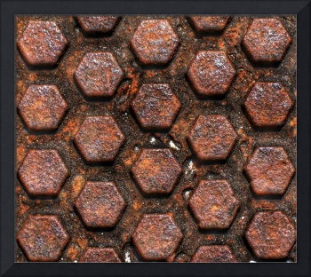 RUSTY HEXAGONS, EDIT C