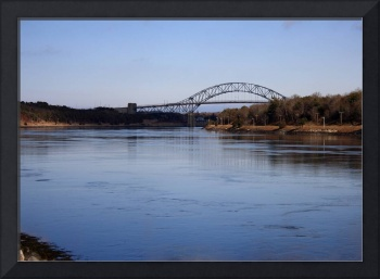 Cape Cod Canal with View of Bridge