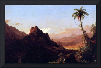 In the Tropics by Frederick Edwin Church