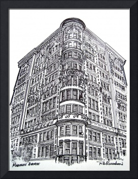 Madison Avenue, New York City, by RD Riccoboni