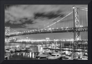 Ben Franklin Bridge HDR