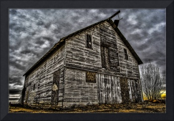 barn awaiting destruction