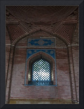 Blue Lattice Window Mosque_5412
