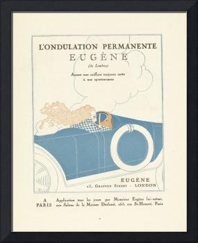 advertisement L'Ondulation permanent Eugène Lucien