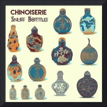 Chinoiserie Snuff Bottles art
