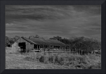 Old Barn 2: Black and White
