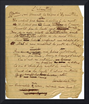 Green Goddess Manuscript by Aleister Crowley