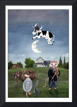 Nursery Rhyme: Cow Jumped Over the Moon