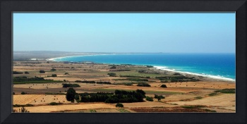 Cyprian Coastline on the Way to Paphos