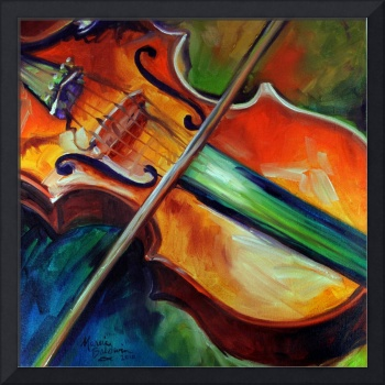 VIOLIN ABSTRACT 06