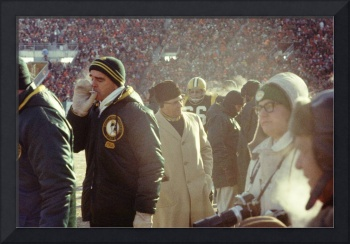 Vince Lombardi on the Sideline