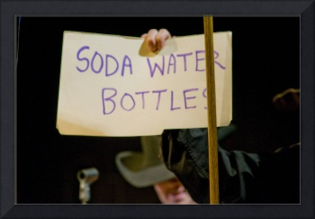 Soda Water Bottles