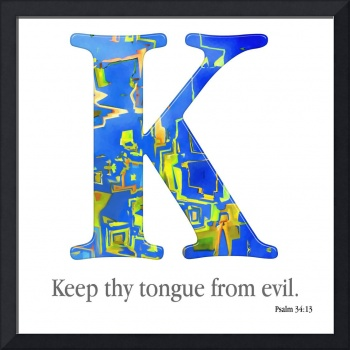 K, the Christian Alphabet