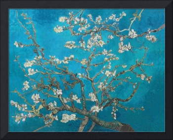 Vincent Van Gogh Blossoming Almond Tree