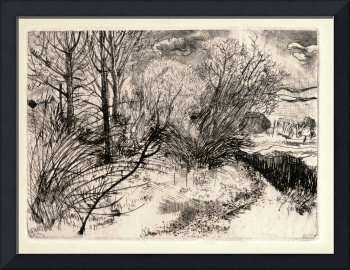 Marin County Etching