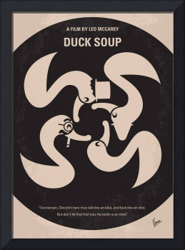 No370 My Duck Soup minimal movie poster