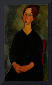 Little Servant Girl, c.1916 (oil on canvas)