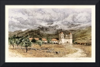 Santa Barbara Mission Founded 1786