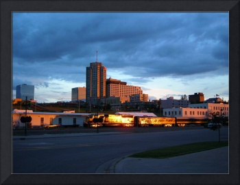 Downtown Anchorage Summer Time
