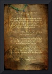 Canvas Tecumseh Poem - Act of Valor Movie by Wayne Moran