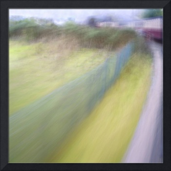 Steam Train Abstract