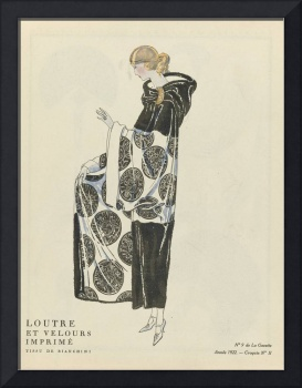 Fashion Poster 1900-1920s Series - 25