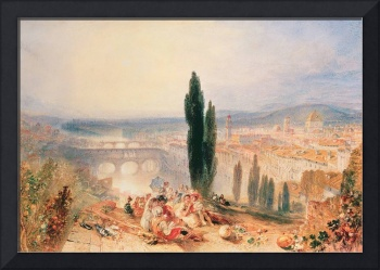 Florence from near San Miniato by Joseph Turner