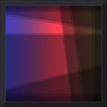 Fun with Colors Abstract Crossing Lines
