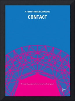No416 My Contact minimal movie poster