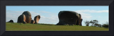 Murphy's Haystacks Panorama