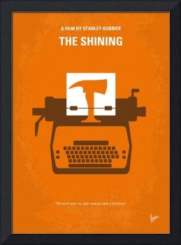 No094 My The Shining minimal movie poster