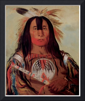 George Catlin's Stu-Mick-o-Sucks Head Chief