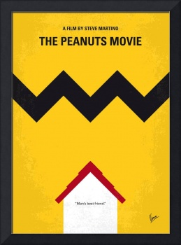 No624 My The peanuts movie minimal movie poster