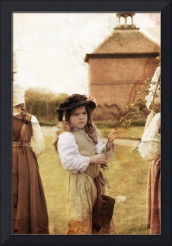 Tudor Children waiting