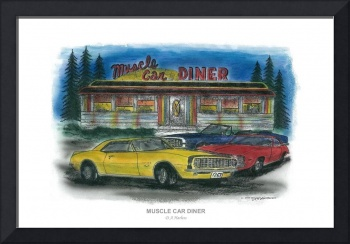 MUSCLE CAR DINER